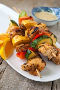 Tangy Chicken Kabobs