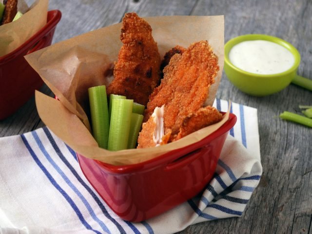 Parmesan Chicken Strips