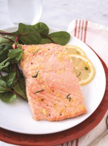 Grilled Herbed Salmon