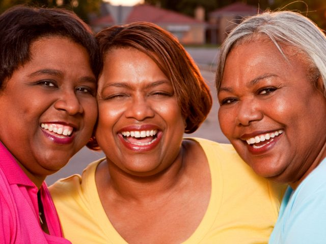group of woman smiling