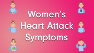 Women's heart attack symptoms