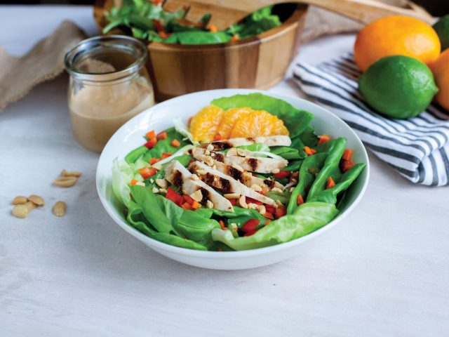 Orange Thai Chicken Salad