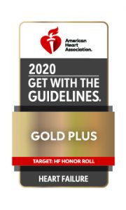 2020 Get with the Guidlines Gold Plus Heart Failure Award