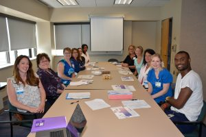Deborah's NWESC Chapter at a planning meeting, held prior to the COVID-19 pandemic.
