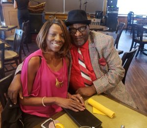 Richard Young and Fiancee