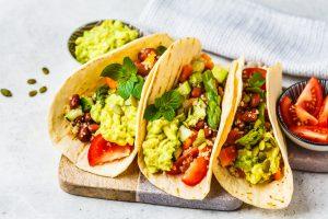 Asparagus Bean Tacos
