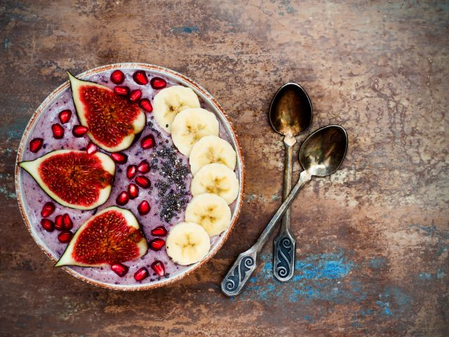 Fig and Berry Breakfast Bowl