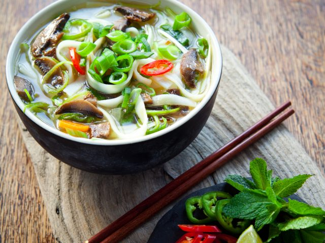 Asian Veggie Noodle Bowl