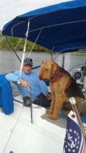 David and Duke onboard