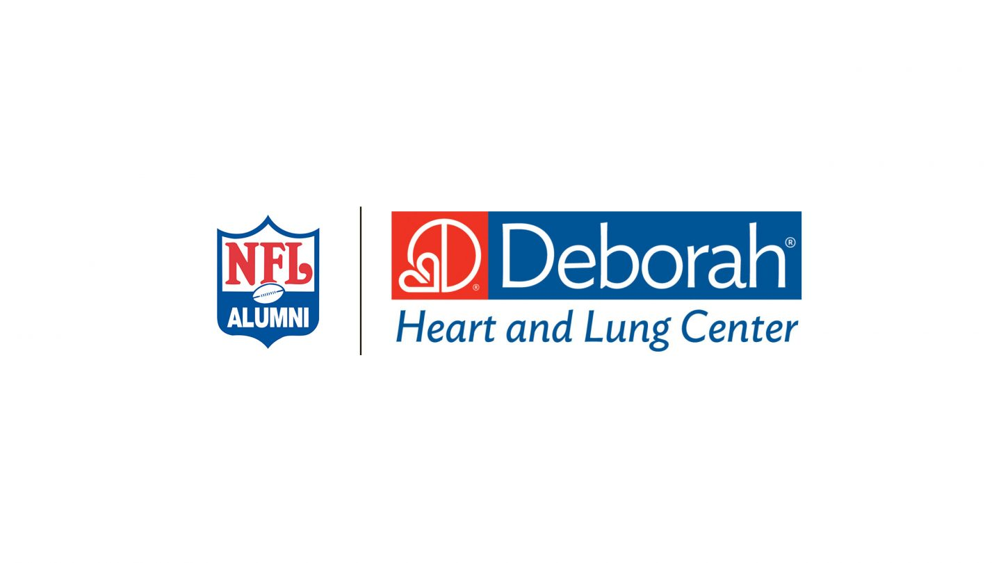 Deborah Heart and Lung Center and NFL Alumni Logos