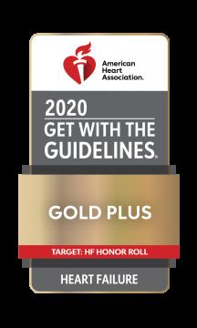 Gold Plus Award American Heart Association