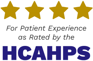 Four Stars for Patient Experience as Rated by the HCAHPS