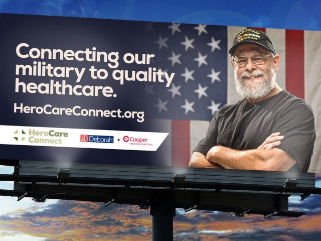 Connecting our military to quality healthcare.
